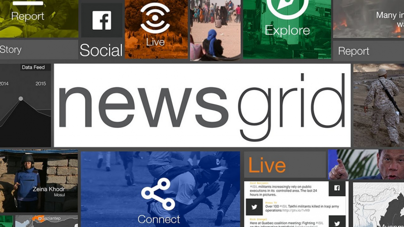 Our interactive designed news hour for Al Jazeera debuts